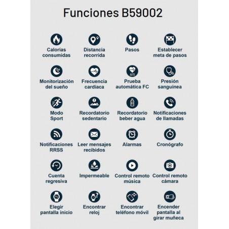 smjoyeros B59002/2 - Reloj Smartwatch actividad... 1