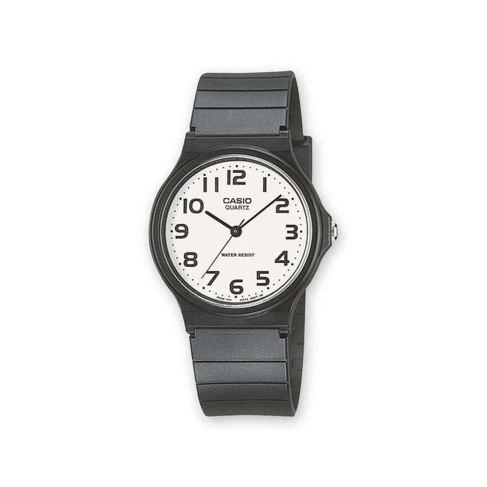Reloj Casio caballero esfera blanca
