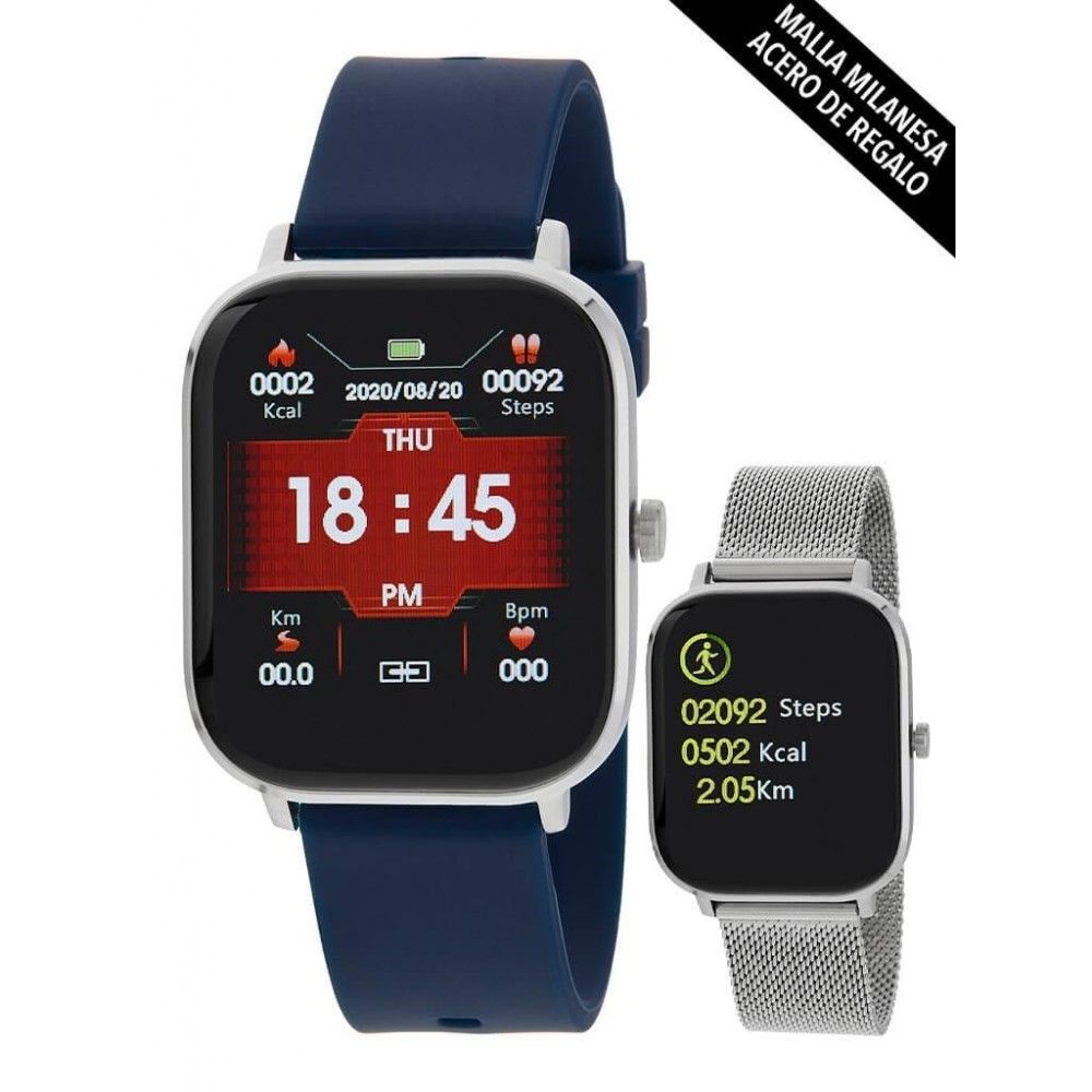 Smart Watch Maera correa silicona...