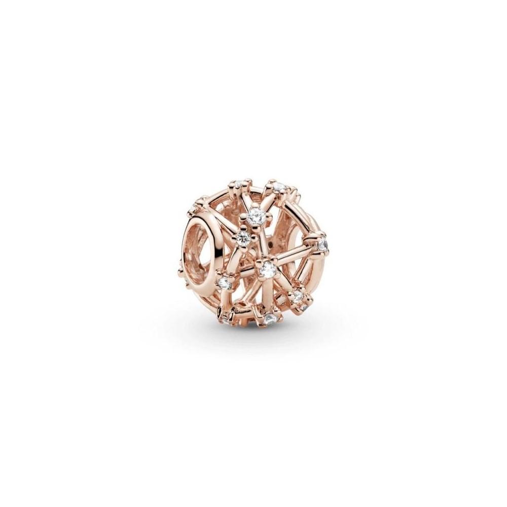 Charm Pandora Rose con circonias...