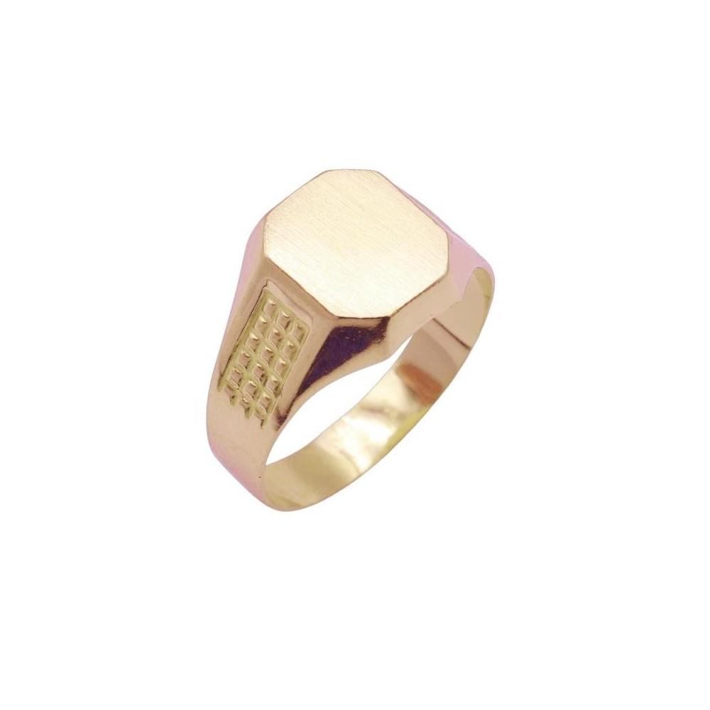4689 - Sello de oro de 18k para niño...