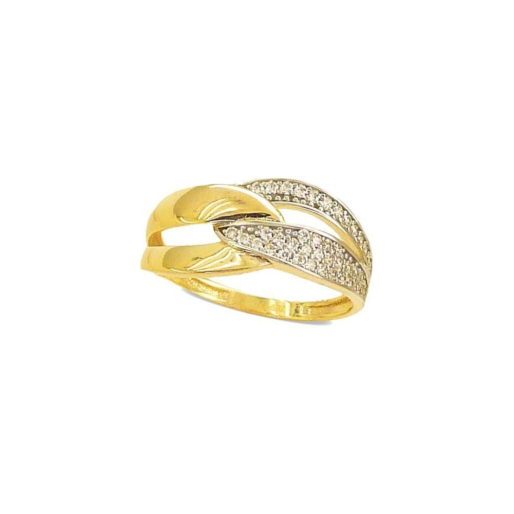 RR-4713 - Anillo de oro amarillo de...