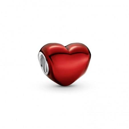 smjoyeros 799291C02 - Charm Corazón Rojo Metálico 0