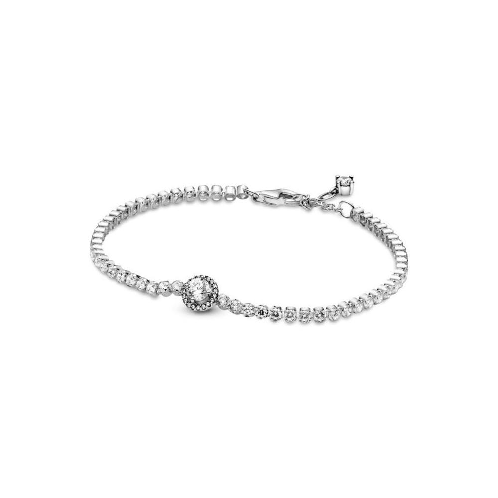 599416C01 - Pulsera Pandora de plata...
