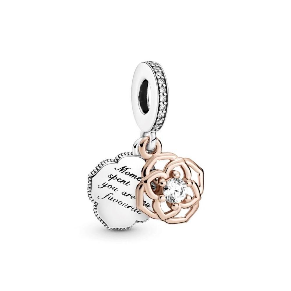 789373C01 - Charm Pandora Flor Rose...