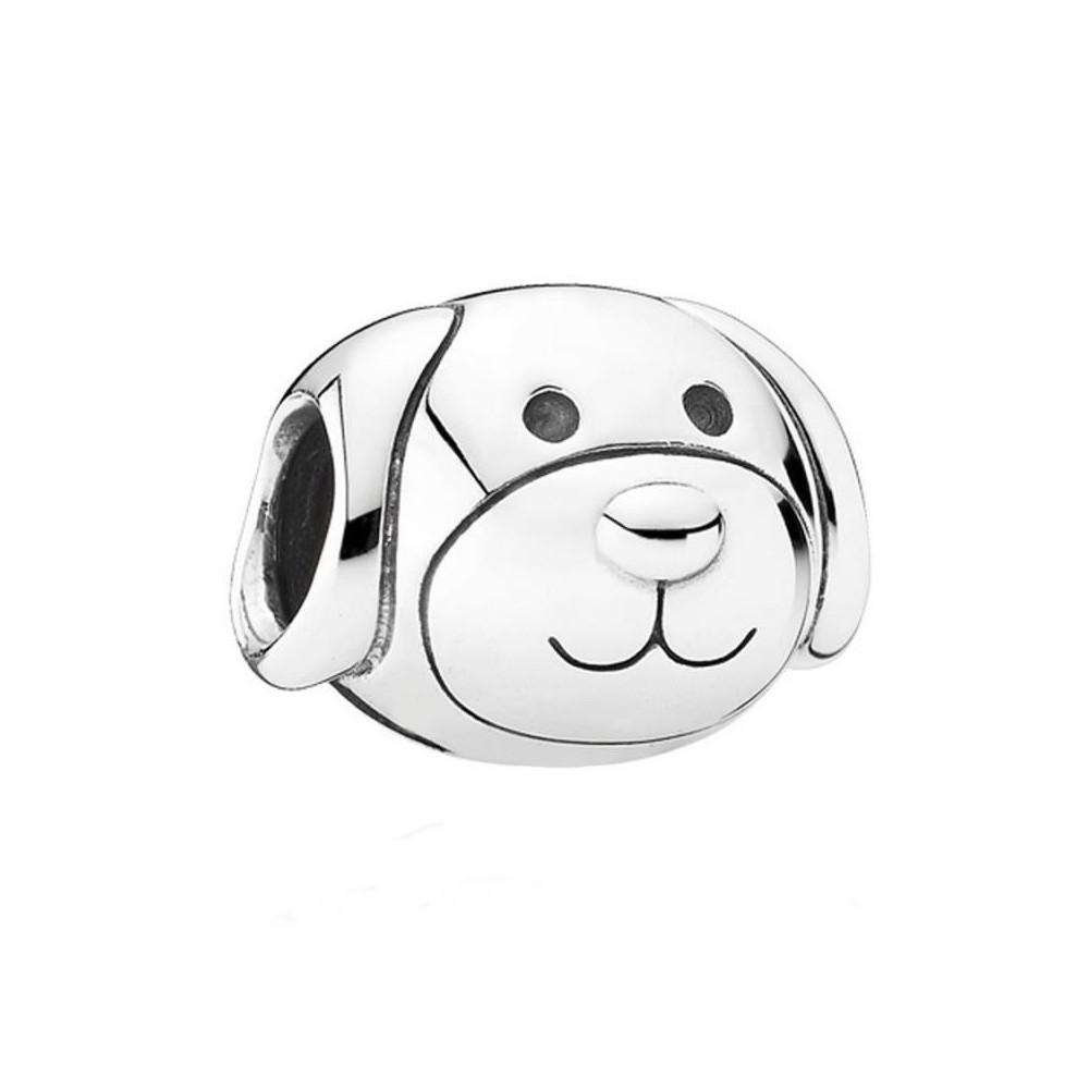 Charm de plata de Pandora. Perro.
