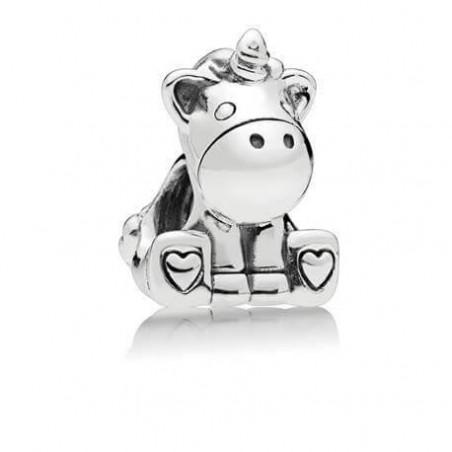 smjoyeros Charm Bruno el Unicornio de plata de ley 0