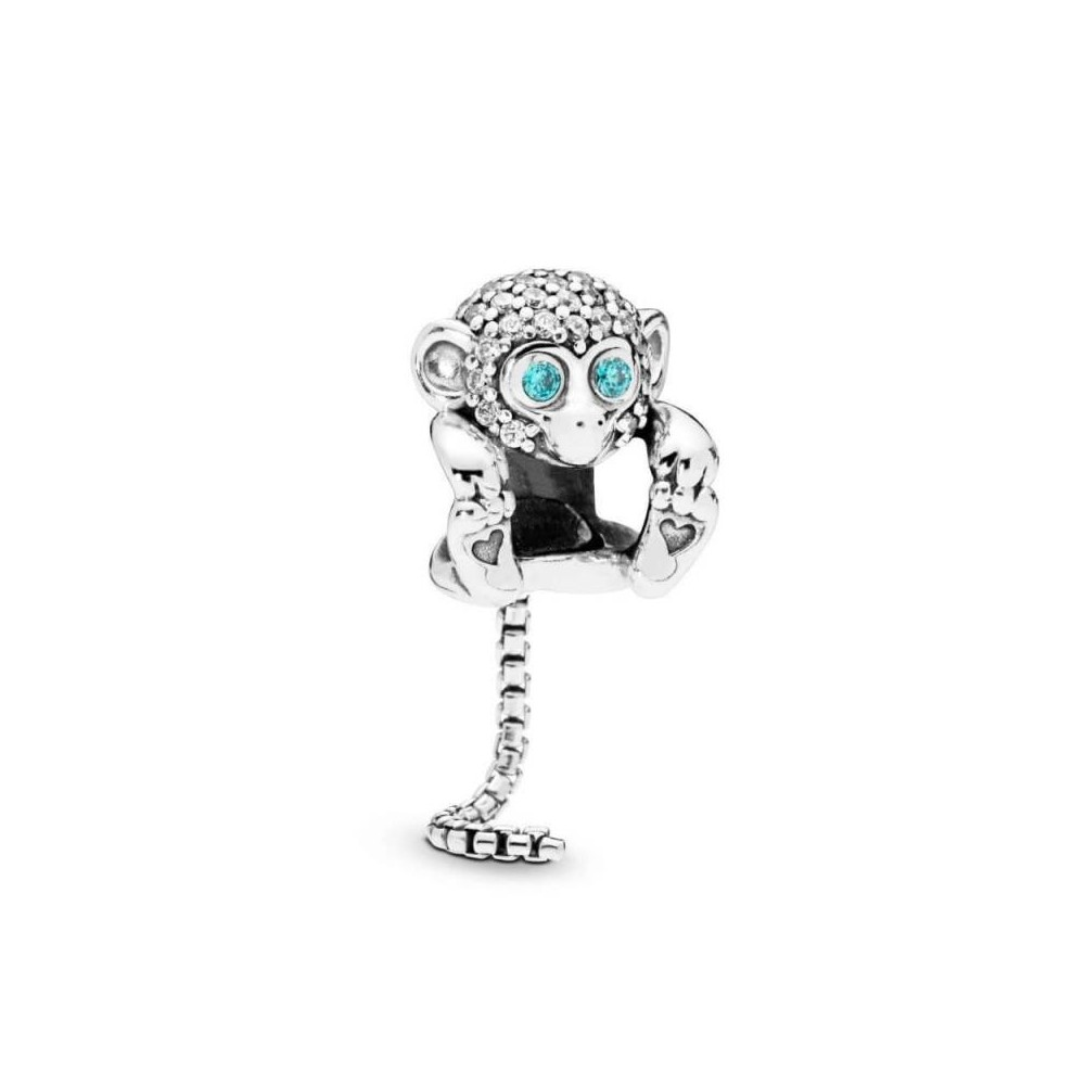 Charm Pandora Mono Brillante de plata...