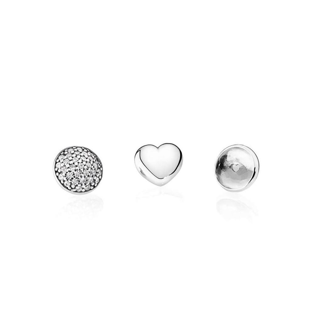 Set de Petites Pandora de plata de Abril