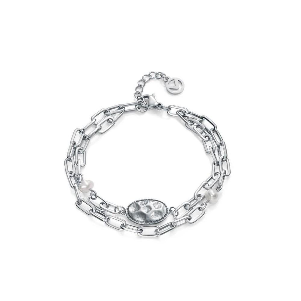 15028P01000 - Pulsera acero cadena...
