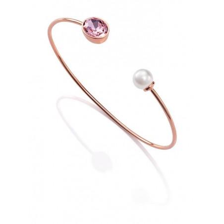 smjoyeros 3198P19019 - Pulsera metal rosa,... 1