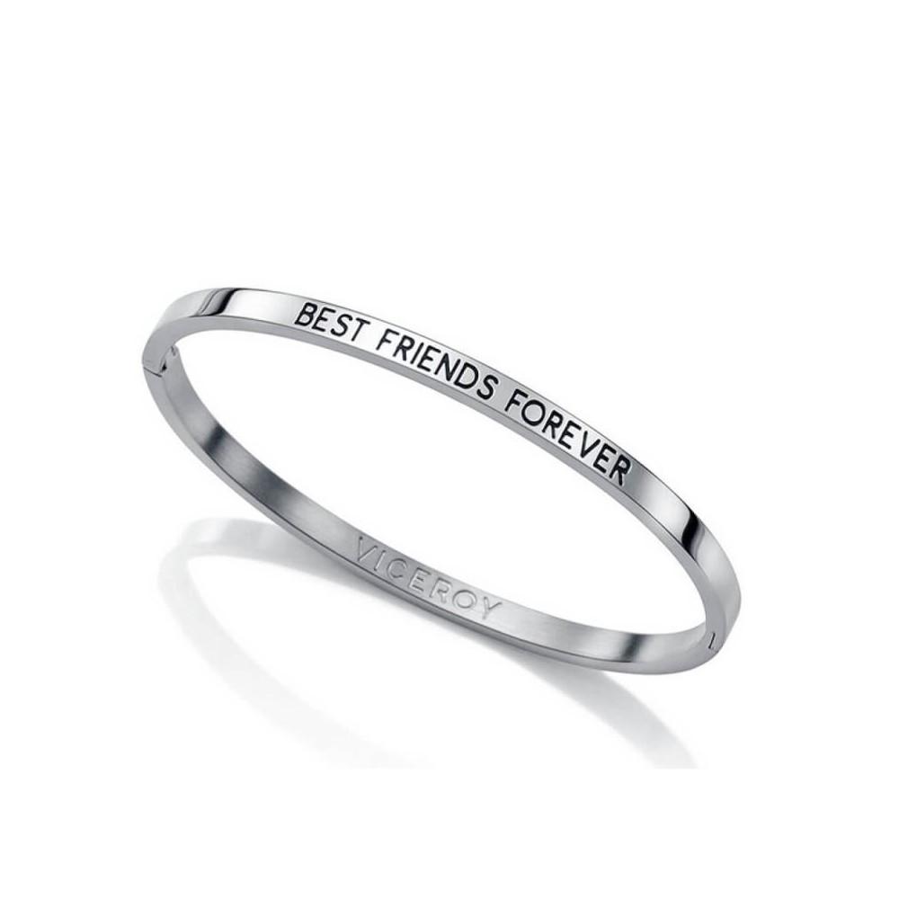 Pulsera de acero BEST FRIENDS FOREVER...