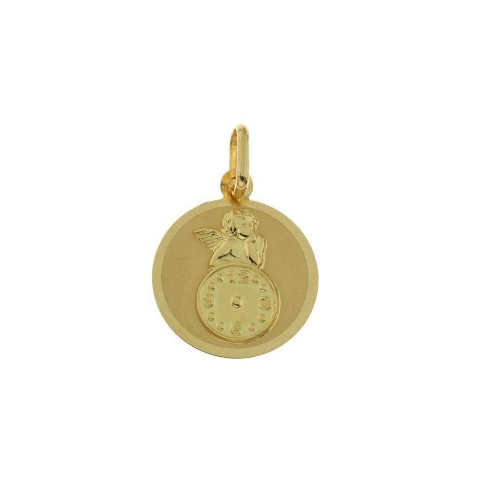 Medalla para bebe de oro de  18 ktes....