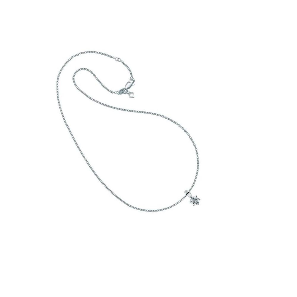 Collar plata Diamonfire Zirconia 5mm