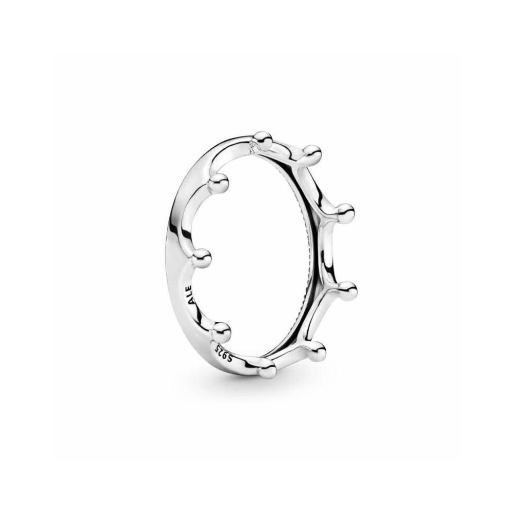 Anillo Pandora Corona plata talla 52