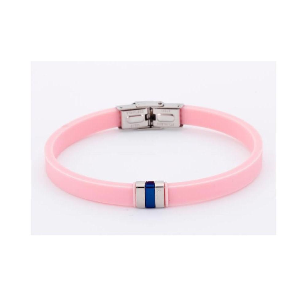 D00203/15 - Pulsera de silicona rosa...