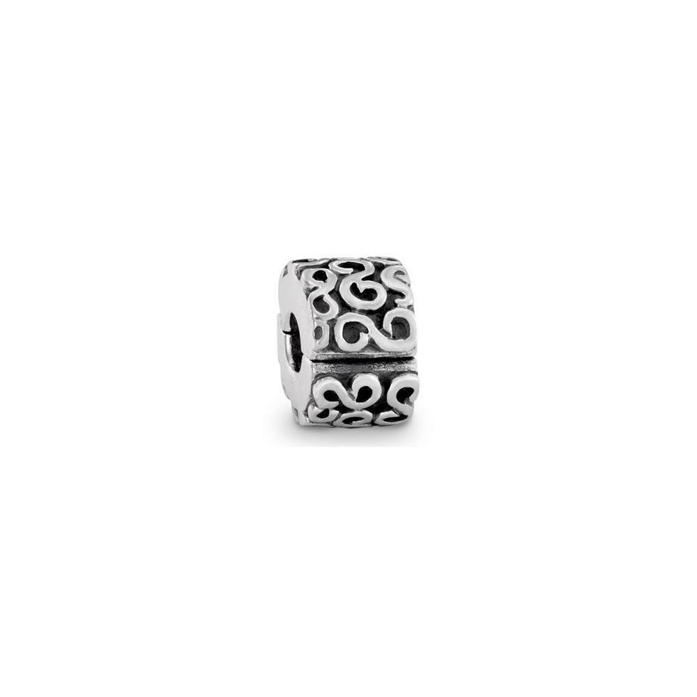 Clip Pandora de plata. PA790338