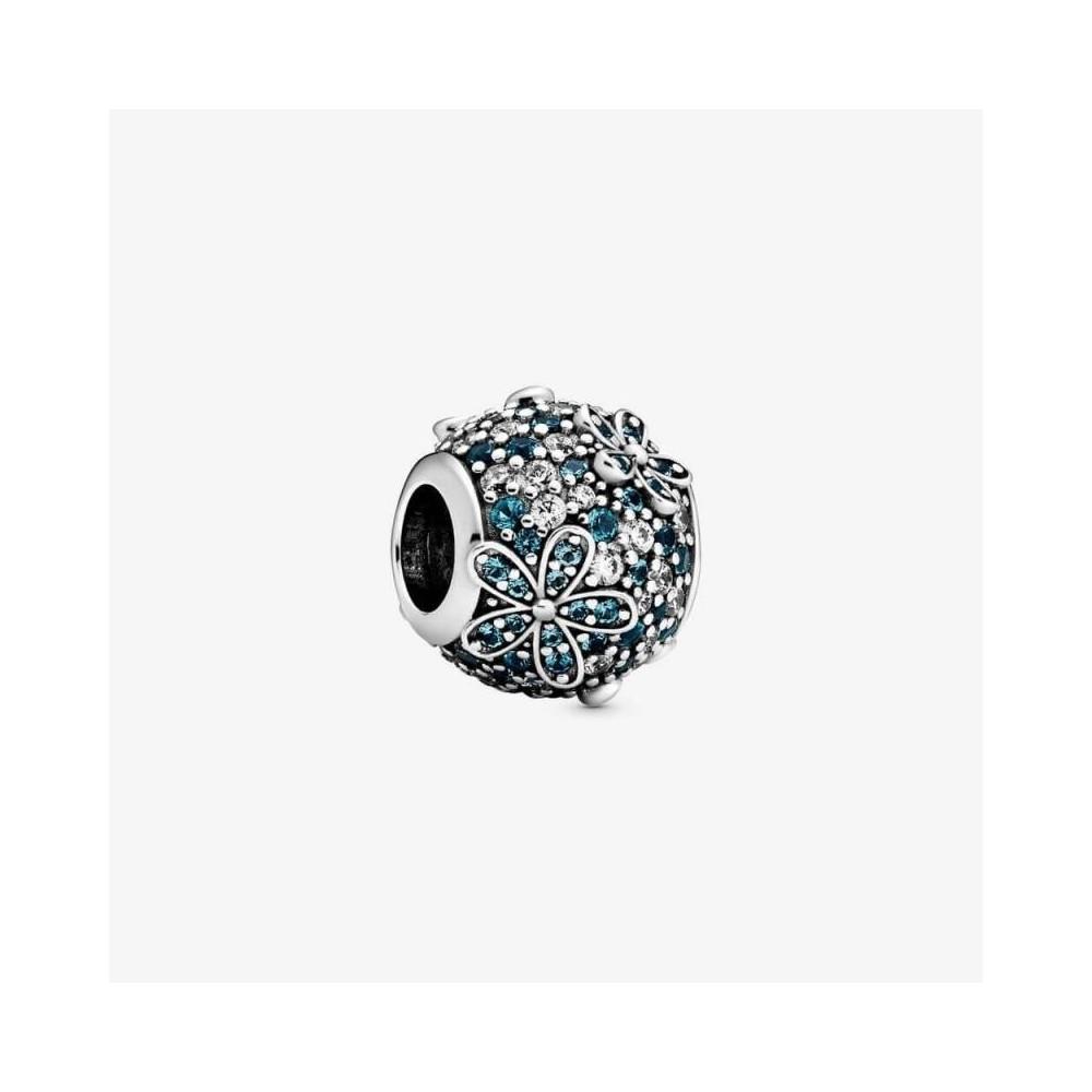 Charm Pandora en plata con gemas