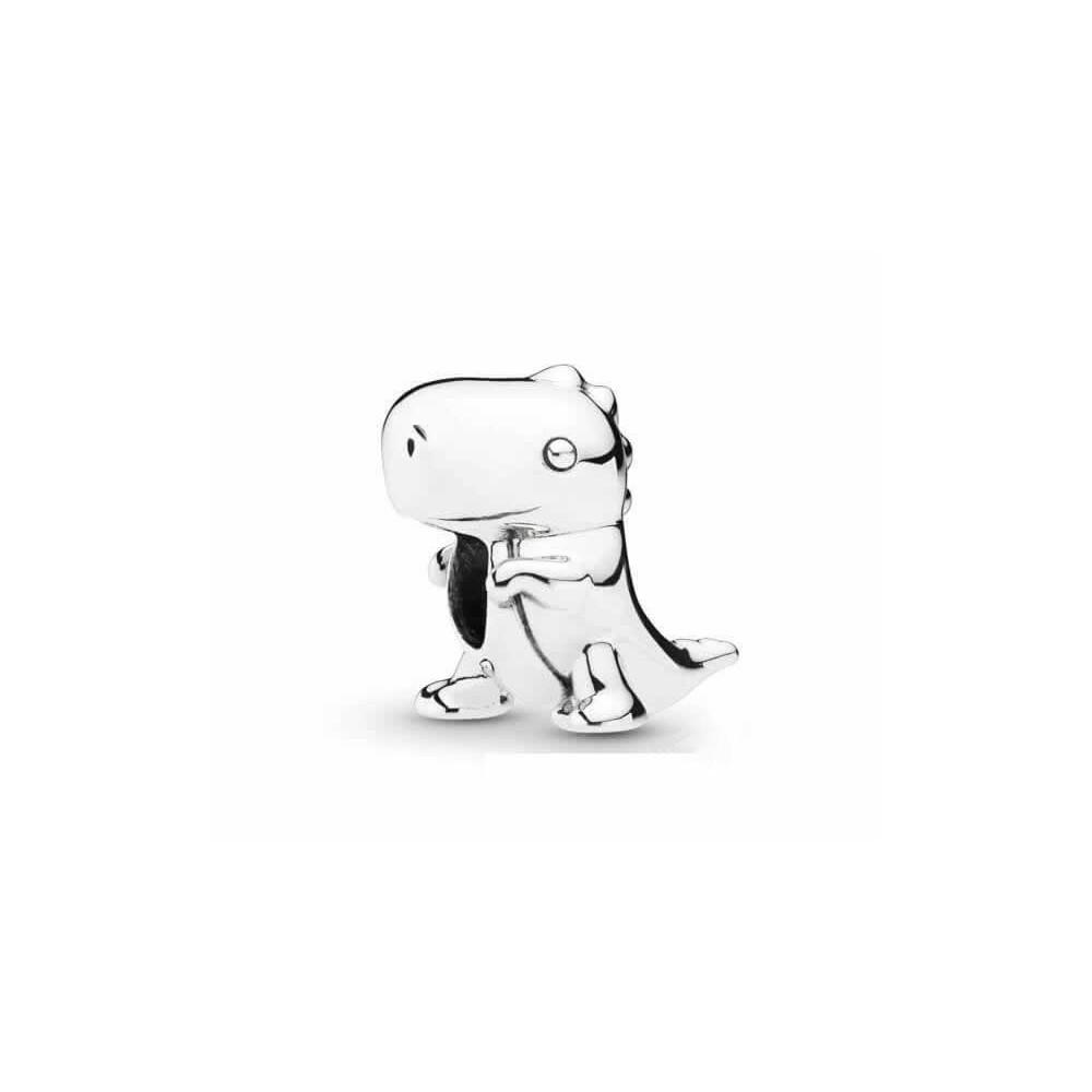 Charm Pandora Dinosaurio plata de ley