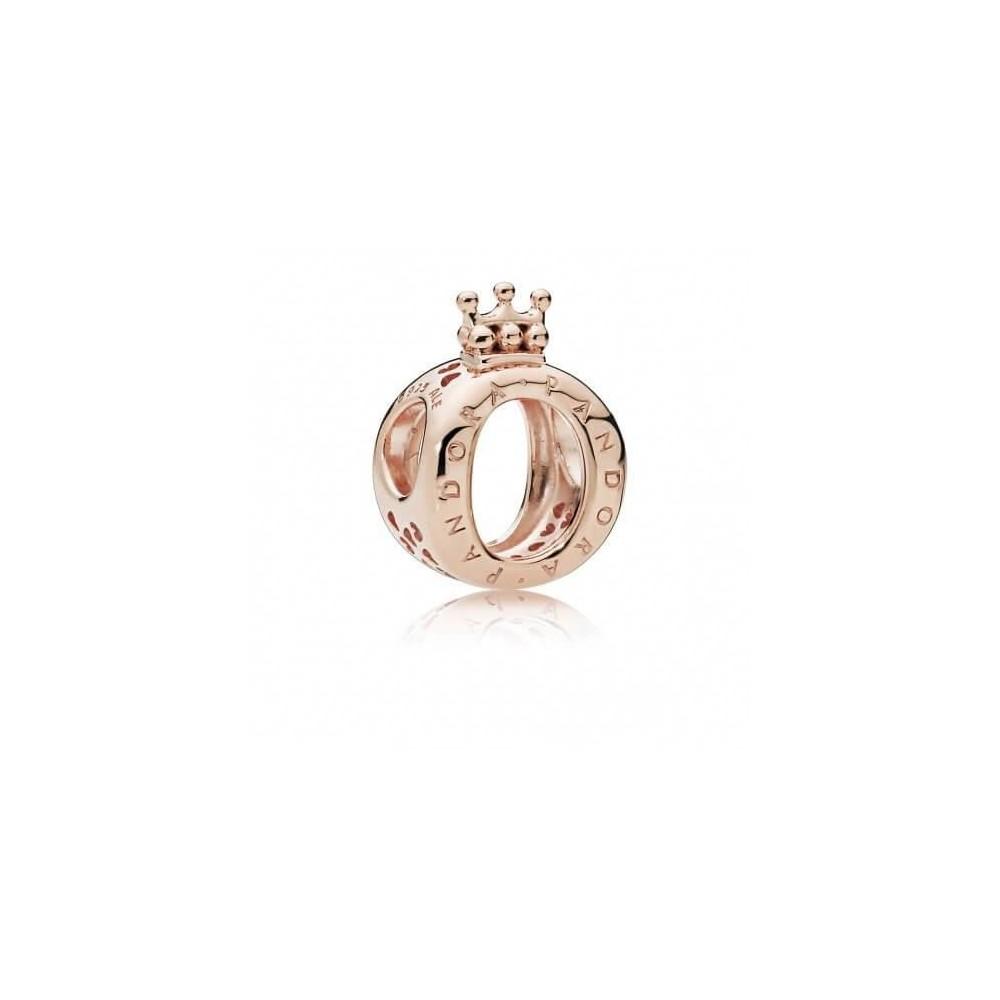 Charm Pandora Rose en forma de corona...